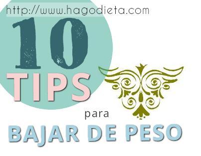 10 tips bajar peso http www hagodieta com