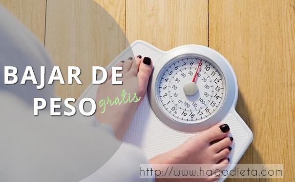 bajar de peso gratis http www hagodieta com