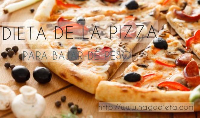 dieta pizza http www hagodieta com