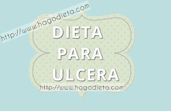 dieta para ulcera http www hagodieta com