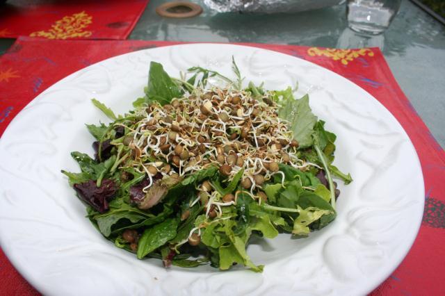 Receta diet: 3 Ensaladas light con Brotes de Lentejas