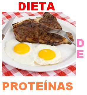 Dieta de Proteinas: 3 kilos en 4 días