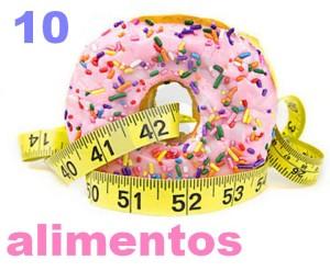 10 Alimentos que más engordan