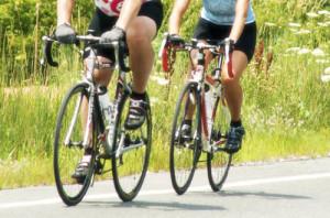 Quemar calorias con ciclismo.