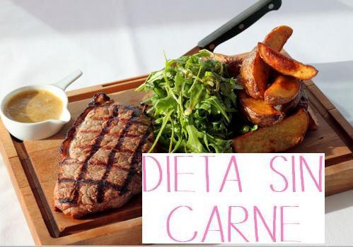 dieta sin carne