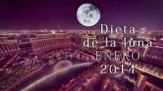 Dieta de la Luna ENERO 2014 Baja 2 kg en 24 hs!