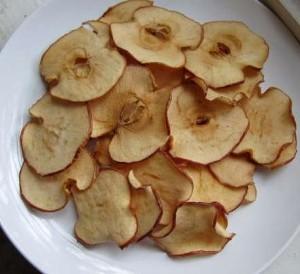 chips manzana receta