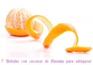 Cascaras de Naranjas para Adelgazar  7 Infusiones