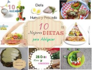 10 dietas adelgazar