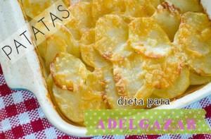 dieta patata adelgazar