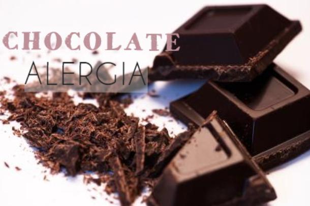 alergia chocolate