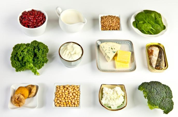 alimentos calcio