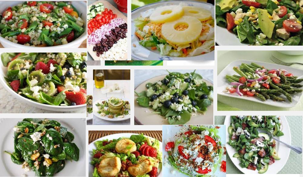 ensaladas con quesos 1