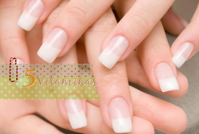 5 vitaminas crecer uñas