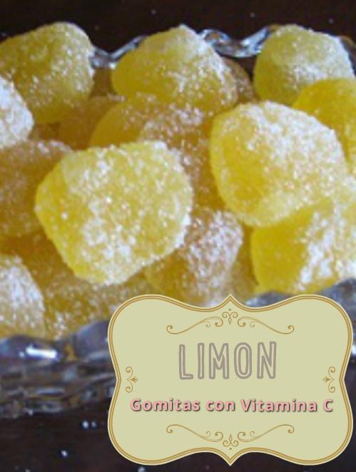 receta gomas de limon vitamina c