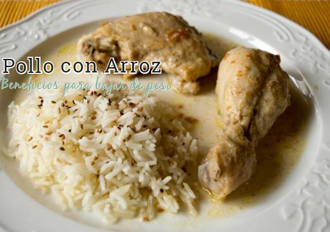 beneficios pollo con arroz