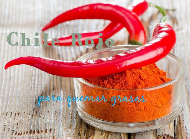 chile rojo para bajar peso adelgazar