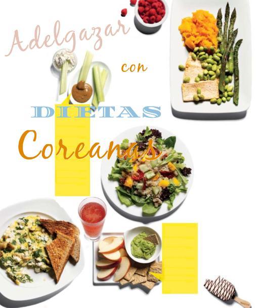 dietas coreanas