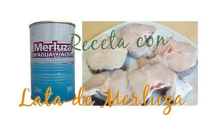 receta lata merluza