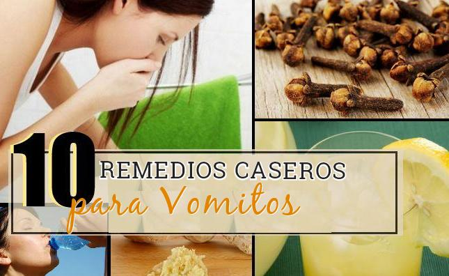 10 remedios vomitos