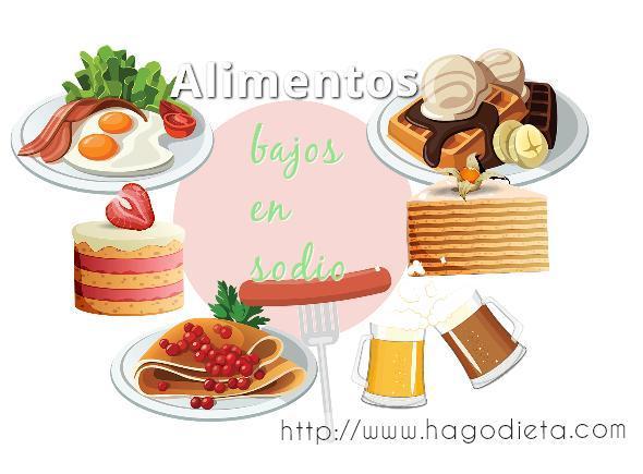 alimentos bajo sodio http www hagodieta com