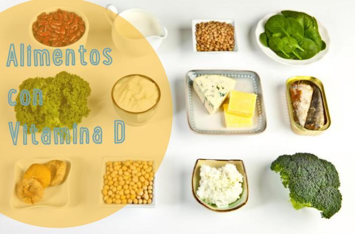 Alimentos con vitamina d for Comidas con d