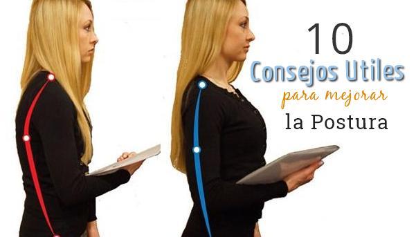 consejos utiles postura cuerpo corporal