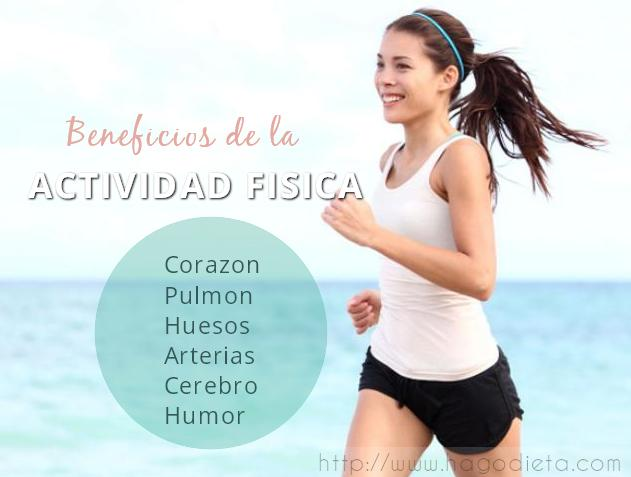 beneficios actividad fisica http www hagodieta com