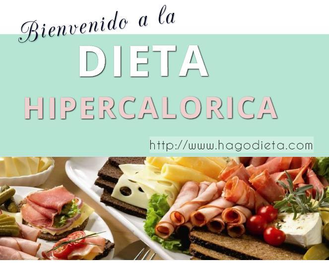 dieta hipercalorica http www hagodieta com