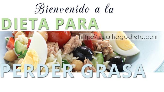 dieta para perder grasas http www hagodieta com