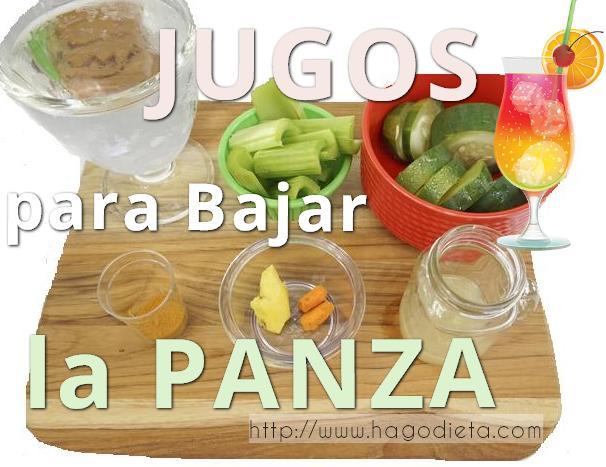 jugos-bajar-panza-http-www-hagodieta-com