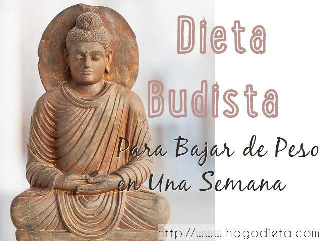 Dieta Budista para Bajar de Peso en Una Semana