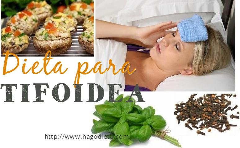 Dieta para Tifoidea