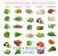 Alimentos Alcalinos para Bajar de Peso