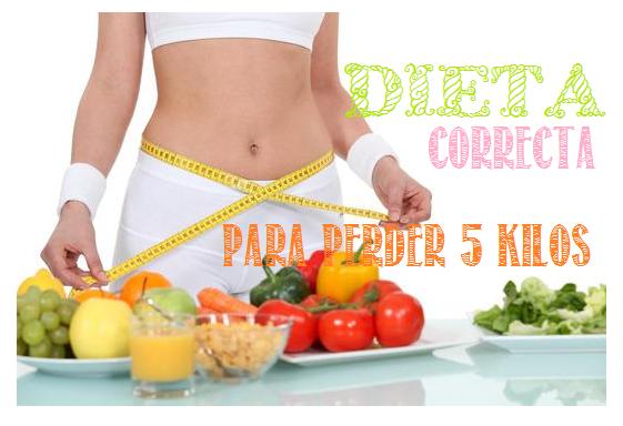 Dieta correcta para perder 5 kilos - Perder 10 kilos en 2 meses ...
