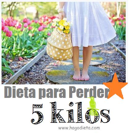 perder 5 kg