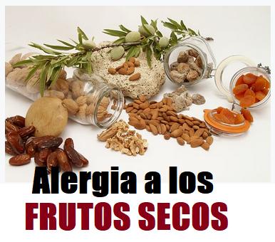 alergia frutos secos