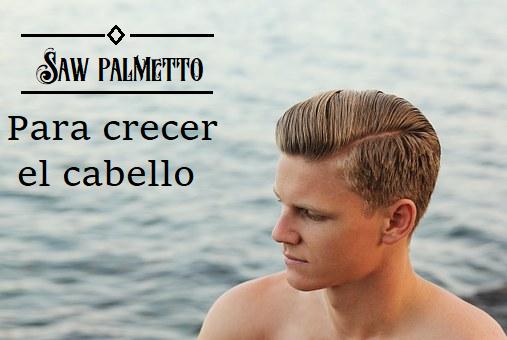 Saw Palmetto para Crecer Cabello