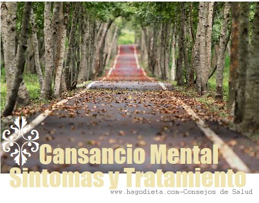 Cansancio Mental Sintomas y Tratamiento