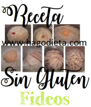 Fideos Sin Gluten Receta Original