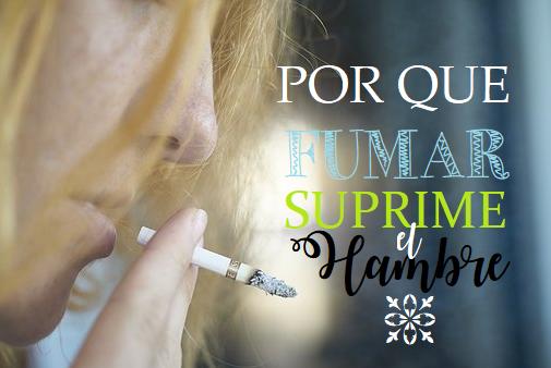 Por que Fumar Suprime el Hambre