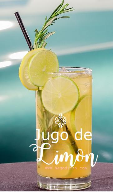 jugo limon