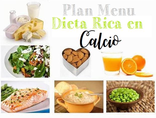 dieta calcio