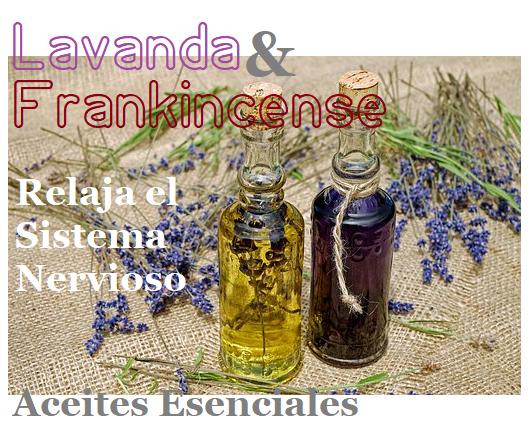 Aceite de Lavanda y Frankincense para Cancer