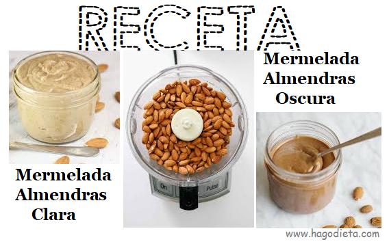 Receta Mermelada de Almendras