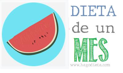 Dieta de Un Mes