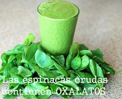 Dieta Libre de Oxalatos