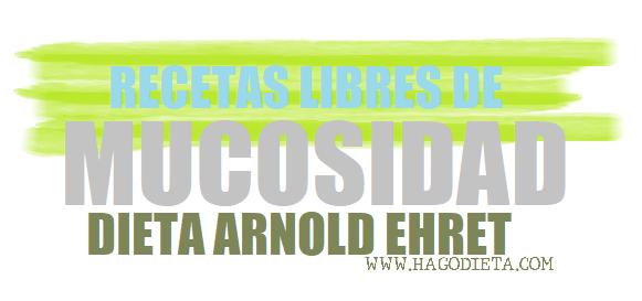 Recetas Dieta Amucosa SCDA Libre de Mucosidad