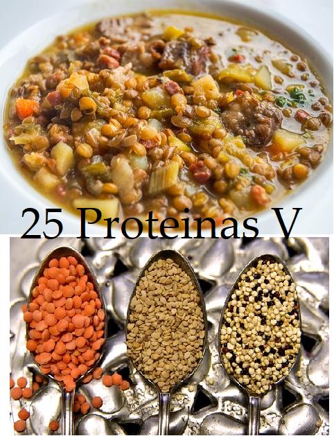 Proteinas Veganas Lista