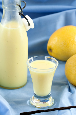 Receta Crema de Lemoncello